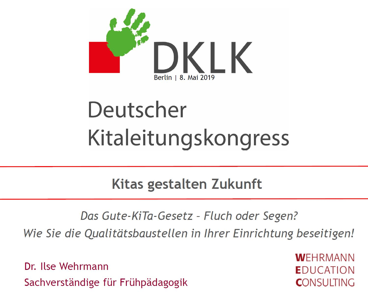 Deutscher Kita Leitungskongress